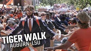 Inside Auburn's Tiger Walk prior to LSU game