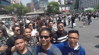 Laying on World's Busiest Crosswalk : Shibuya Crossing 😂🤣😎