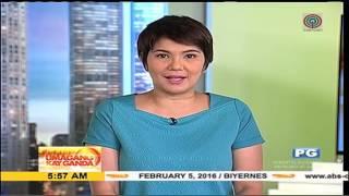 Umagang Kayganda - Singing PoliceWoman