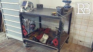 Fabriquer une Table de soudure - DIY // ⓇⒷ
