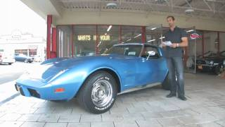 1975 Chevrolet Corvette Coupe for sale with test drive, driving sounds, and walk through video