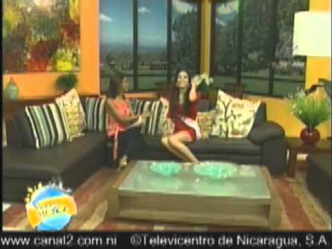 Perfil Farah Eslaquit Candidata a Miss Nicaragua 2012