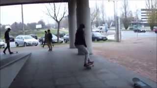 My New Skate Video 2014