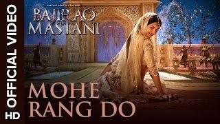 Mohe Rang Do Laal (Official Video Song) | Bajirao Mastani | Ranveer Singh & Deepika Padukone width=