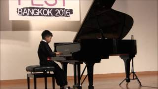 Kuhlau: Andante Cantabile from Sonatina op.55 no.2 by Thanawat Roongkrajarng