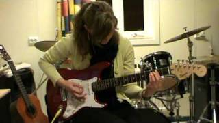 AC/DC - She likes rock' n' roll cover by Kasia
