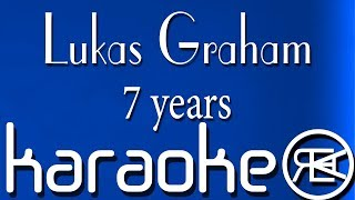 Lukas Graham - 7 years (Karaoke Version/\Cover, instrumental with lyrics)
