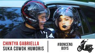 Jemput Chintya Gabriella Pake Motor?! Konsep Baru Nebengboy? #BoncengBoy