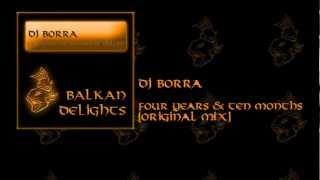 BDL017 DJ Borra - Four Years & Ten Months (Original Mix)