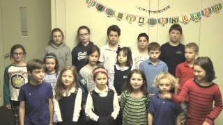 "BJ Children's Chorus Sings ""Oh Hanukkah"" 2014"