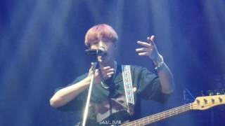 [FANCAM] 160820 DAY6 LIVE CONCERT DREAM IN BKK - OUT OF MY MIND (YOUNG K)