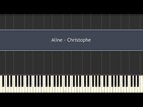 Comment jouer Aline de Christophe au piano