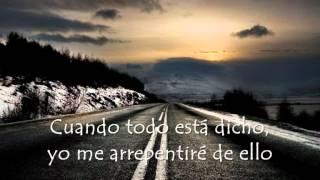 Chris Daughtry - Crawling back to you (traducida español)