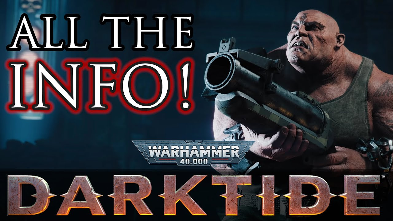 Zerkovich - ALL the DARKTIDE Info!