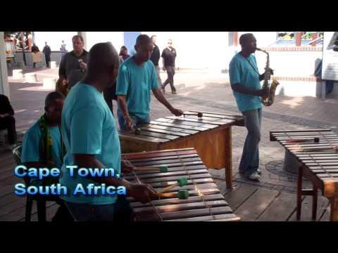 At Cape Town, South Africa Waterfront (Abikondela, Marimba Band)