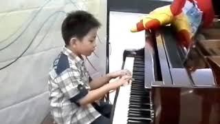 Beat Drum Piano Forte 1 - Matthew 5 years old
