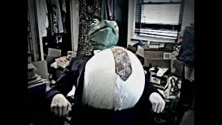 Frog Inflates Until He Bursts  ( Balloon Belly Popping ) Copyright Aesop FrogOx 2015