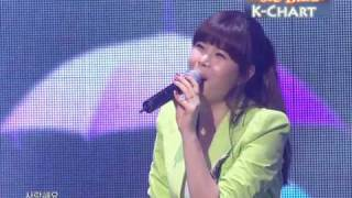 [K-Chart] 15 [▼6] Honey, Baby, Love - Lyn (2010.6.18 / Music Bank Live)
