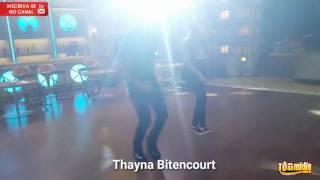 Thayna Bitencourt e Mano Walter no Boteco do Ratinho