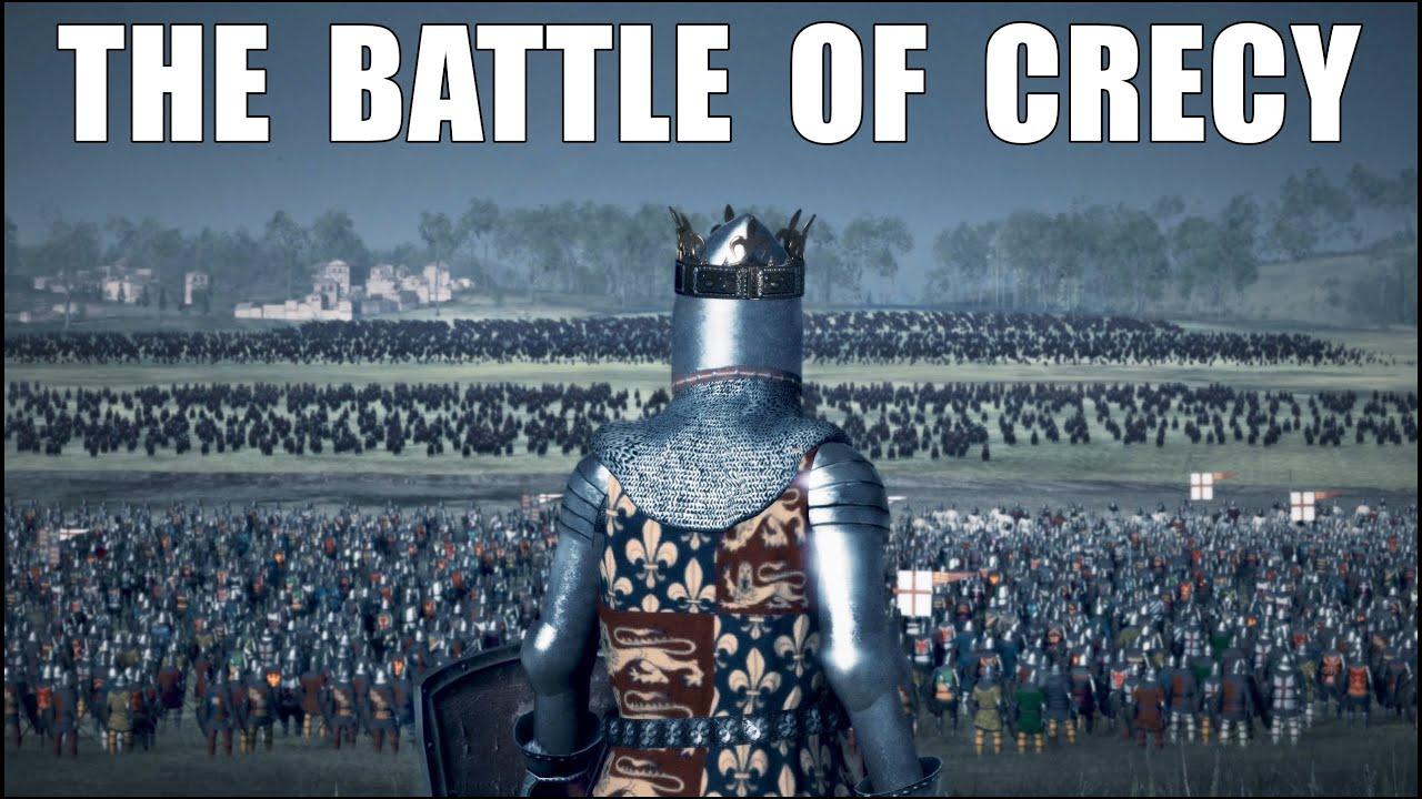 The Battle Of Crecy 1346 L England Vs France +20.000 Unit Medieval Kingdoms