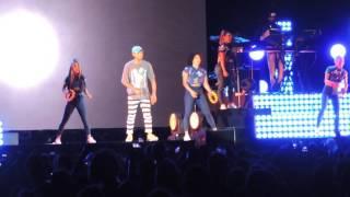 Pharrell Williams live Summer Arena assago MILANO 12.7.2016