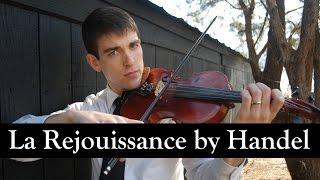 La Rejouissance- Violin