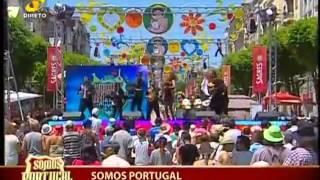 """MINHOTOS MAROTOS """"Levanta mais a Perninha"""" em Braga no Somos Portugal TVI  - Contacto para Festas"""