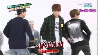 [INDO SUB] 140430 BTS - Weekly Idol (Girl Group Dance)