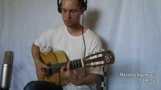 Por Una Cabeza | Scent of a woman tango. Guitar cover