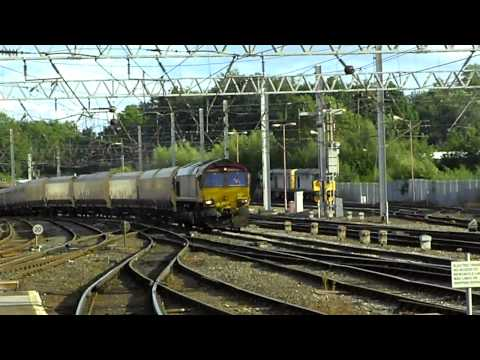 Carlisle railway station traffic 24th August 2009 Part 5