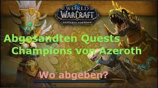 Champions Von Azeroth Quest World Of Warcraft