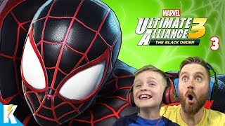 Web Warriors Unite! Marvel Ultimate Alliance 3 Gameplay Part 3! KIDCITY GAMING