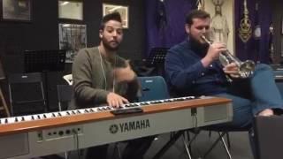 Improvisación de My Way con el trompetista Antonio Jesús Gutiérrez