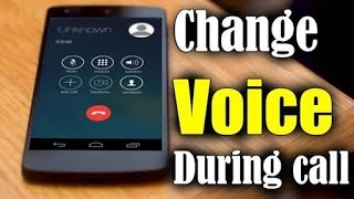 How to Change Voice Male to Female to Male During Call???