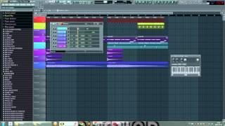 Chris Schweizer Bassline Style (Armins Full Focus Remix) FL Studio