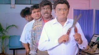 Singaravelan Comedy Scene - Kamal Haasan, Khushboo, Vadivelu, Goundamani, Mano - Cast Off