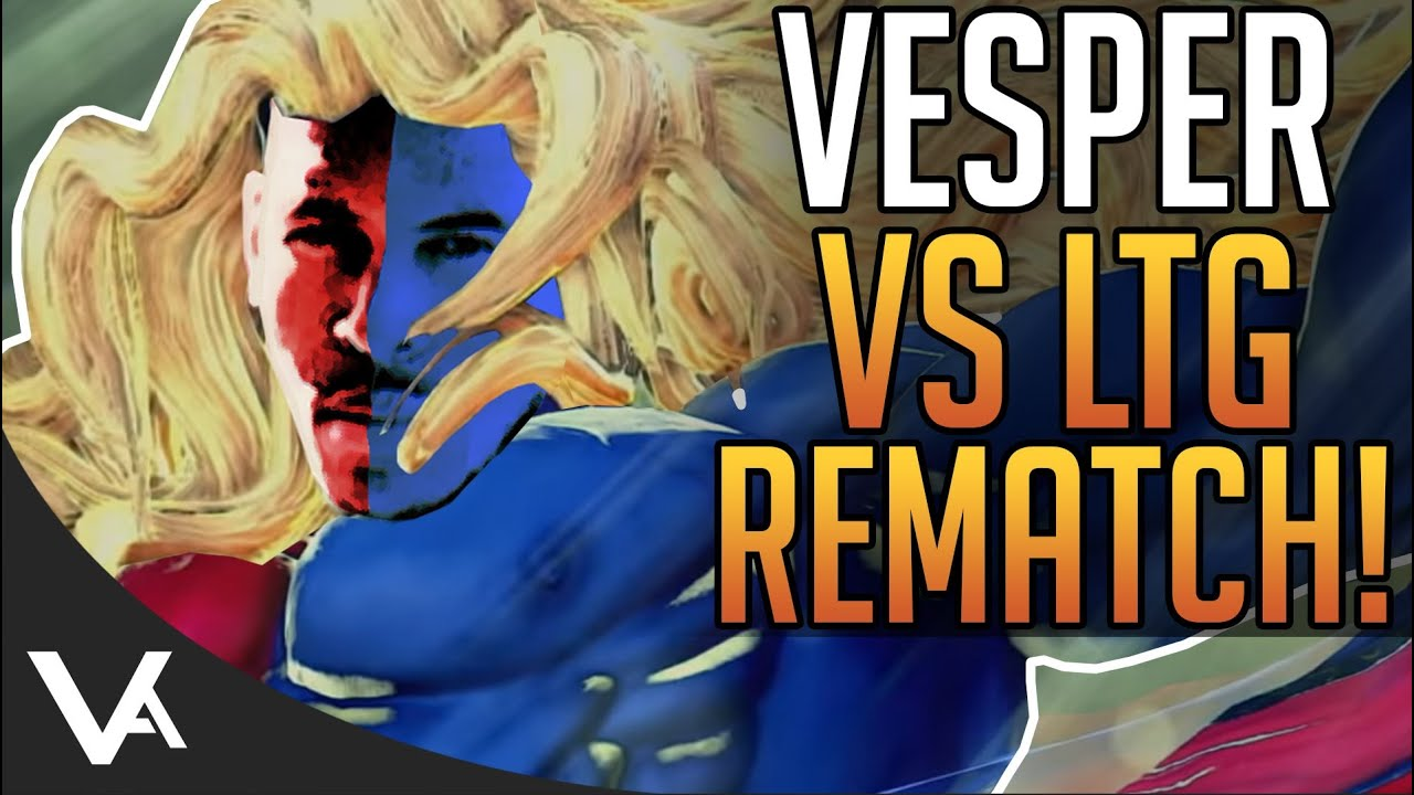 VesperArcade - I Ran Into LowTierGod Again! Ken Ranked Online Matches For Street Fighter 5