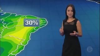 Quarta-feira será de chuva na maior parte do Brasil