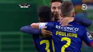 Goal | Golo Niltinho: Sporting 1-(1) Chaves (Liga 18/19 #10)