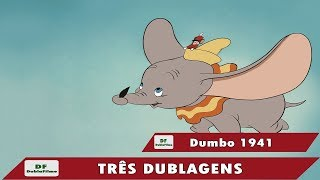Dumbo de 1941 - Três Dublagens