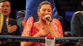 MORISSETTE AMON sings The Philippine National Anthem(Lupang Hinirang)