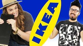 Gays vs. Lesbian Compete In Building Ikea Furniture