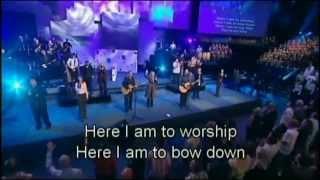 Hillsong - Here I am to worship (lyrics) Best True Spirit Worship Song