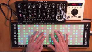 Inevitability (noodle with Mother-32, LinnStrument and Eventide H9)