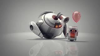 3Dintro.net 144 robots 3d logo bumpers ii - 3Dintro.net - Intro Video