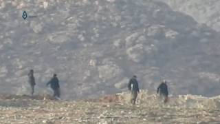 Rif Dimashq: Pro-regime fighters attempting to raid Wadi Barada villages 23-1-2017