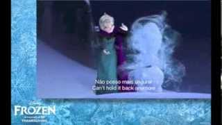 Frozen - Livre Estou (Let It Go Brazilian Portuguese) Subs + Translation