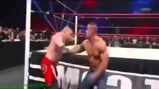 John Cena vs Brock Lesnar extreme rules 2012 highlihts