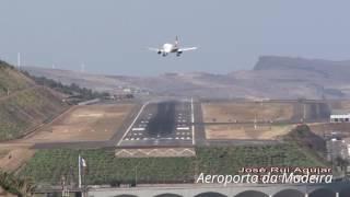 Avião Falha Pouso no Aeroporto da Madeira Cristiano Ronaldo Perigo