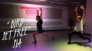 Bird Set Free SIA Choreography by Derek Mitchell at Broadway Dance Center